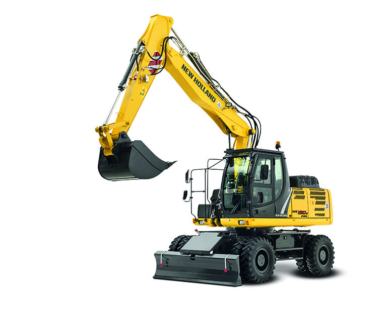 NH_Wheeled excavators